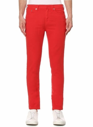 Neil Barrett Jean Pantolon Kırmızı